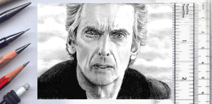 Peter Capaldi by wu-wei